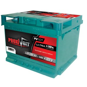 batterie auto Proxivolt Ultra -vl-12v-60ah