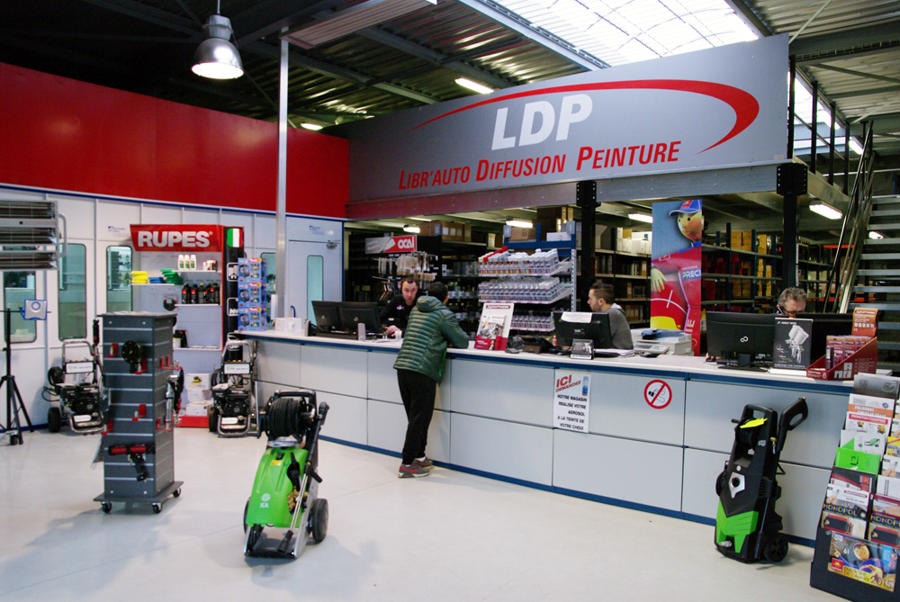 LDP Accueil Showroom Saint brieuc