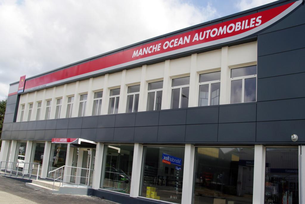 Nouveau Batiment Manche Ocean Automobiles