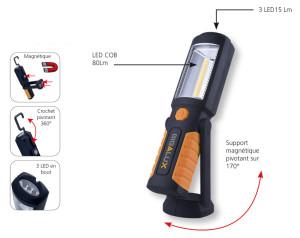 mini baladeuse rechargeable