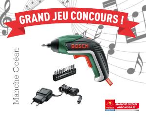 Grand jeu concours Facebook Manche Océan Automobiles